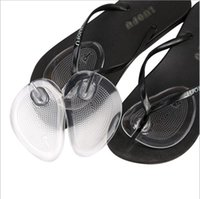 Wholesale Wholesale High Heel Flip Flops - 2017 Newly summer Anti-slip Transparent Silicone Forefoot shoe pads Foot Care Tool Cushion Flip Flops Sandals High Heel Pad
