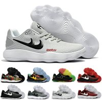 New Hyperdunk 2017 Low EP Chaussures de basket-ball pour hommes Chaussons Sports respiratoires Hyper Dunk Basket Ball Sports Hyperdunks Shoes Sneakers Boosts US7-12