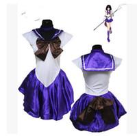 Wholesale Quality Venus - venus cosplay Athemis Anime Moon Minako Aino   Sailor Venus Cosplay Costume custom made Dress High Quality