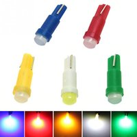 10 Pcs / set 12V 1W T5 LED Voiture Auto Side Wedge Jauge Tableau de bord Jauge Instrument Lampe Ampoule Style de voiture