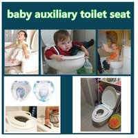 Wholesale Toilet Seats Covers Soft - Creative Kids Baby Potty Toilet Seat Mat toilet seat covers children safety soft Toddler auxiliary toilet pad training seat kid386