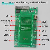 Wholesale Oppo Battery - Android phone Professional Battery Activation Charge PCB Board with USB Cable for VIVO OPPO MEIZU Samsung xiaomi Circuit Tester