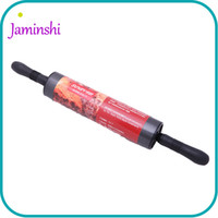 Wholesale Roll Coat - 47*6cm Rotatable Design Carbon Steel & ABS Resin Whitford Coating Non-Stick Rolling Pin Cake Bread Noodles Baking Tool