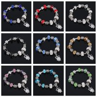 Wholesale Mixed Large Hole Beads - New arrival Bracelet DIY large hole beads hand bracelet FB330 mix order 20 pieces a lot Charm Bracelets