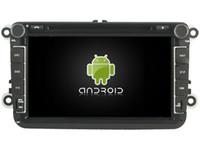 Wholesale Gps Touran - Octa Core Android6.0 2GB RAM car dvd play stereo for VW Caddy Passat Sagitar Golf Tiguan Touran gps navi headunit 3G tape recorder headunit