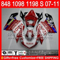 Wholesale 1198s fairing for sale - Group buy Bodywork For DUCATI S R R HM2 red white S R S S Fairing Kit