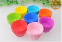 Wholesale Molds Mini Cupcakes - 24 pcs a pack Silicone Baking Cups, Reusable Cupcake Liners Muffin, Gelatin molds Non-stick Mini Silicone Baking Truffle Cups