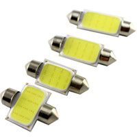 Wholesale 39mm High Power - 100Pieces lot New! Festoon COB 36MM 1.5W High Power 12V Reading Dome Festoon Lights White Bulbs Can Mix Size
