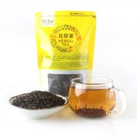 Wholesale Good Food Packaging - New Top Lapsang Souchong Wuyi Black Tea Paulownia Smokehouse Chinese Food Red Tea Good For Stomach And Beauty Bag Packaging 100g