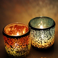 Wholesale Christmas Gift Cups - Warm holiday gift candle lamp decorations mosaic garden beautiful fashion Home Furnishing supplies stable supply source of supply
