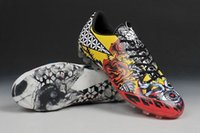 Wholesale Mens Tattoos - Free Shipping 2017 Mens Soccer Shoes Boots F50 Adizero Tattoo Love Hate Cleats TF AG Soccer Shoes Football Shoes
