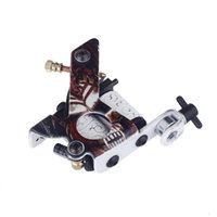 Wholesale New Pro Shader Liner - New Pro Tattoo Machine Shader Liner 10 Wrap Coils Free Spring H11651