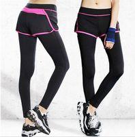 Wholesale bodybuilding clothing women - New Women Leggings Female Clothing Slim Pants Workout Fitness Pants Bodybuilding Clothes