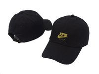 Wholesale Spring Trap - 2017 It's Lit Swoosh Custom Unstructureds Dad Hat Adjustable Cap New-Red w  Gold bone TRAP JUST DO IT Air Japan Air Tokyo baseball Cap