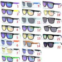 block venda por atacado-Marca Designer Spied Ken Block Capacete Óculos De Sol Da Moda Esportes óculos de Sol Oculos De Sol Óculos De Sol Eyesware 22 Cores Unisex Óculos