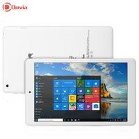 Wholesale Intel Atom Tablets - Wholesale- 8 inch Teclast X80 Plus Windows 10 + Android 5.1 Tablet PC Intel Atom X5-Z8300 Quad Core WXGA 2GB RAM 32GB ROM HDMI OTG Tablet