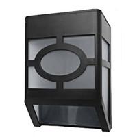 ev için ledli güneş ışığı toptan satış-Toptan-LED Açık Güneş Lambası Su Geçirmez IP65 Güneş LED Güneş Işık Güvenlik Duvar Lambaları Ev Bahçe Için Işık Kontrolü