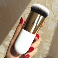 Wholesale Red Chubby - Three pieces of a set of basic brush cheek is red brush chubby pier smooth cream professional makeup brush high quality fast shipping.