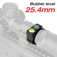Wholesale Aluminum Level - New Arrival Tactical 25.4MM Riflescope Bubble Level 6063 Aluminum Black For Airsoft Free Shipping CL24-0180