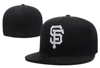 Wholesale High Quality Giant - HOT San Francisco Giants Fitted Hats Baseball hats sports hats For men and women High quality