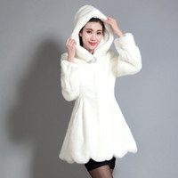 Wholesale Autumn Winter New Lady slim Imitation Fur Coat Long Sleeve Jacket