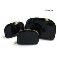Wholesale Cosmetic Cases Designer - Wholesale Women snowflake zipper elegant famous beauty cosmetic case luxury makeup organizer bag designer toiletry clutch bag