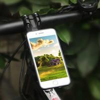 Wholesale aluminum smart phone holder online – Cycling Aluminum Alloy Bike Phone Holder Stem Cap Mount for iphone Plus Smart Phones