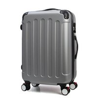 Wholesale Suitcase Abs - High Quality 20,24 Inches Spinner Wheel ABS Trolley Travel Bag Luggage Travel Suitcase Boarding Rolling Luggage JO0018