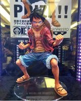 Monkey D. Luffy Anime One Piece Macaco D. Luffy PVC figura de ação Collectible modelo brinquedo 18cm à venda