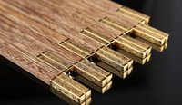 Wholesale Mahogany Chopsticks - Longfeng mahogany chopsticks Chicken wing wooden chopsticks box set free shipping