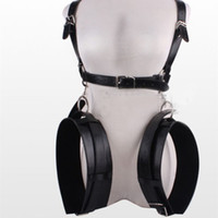 Wholesale Adult Sex Slings - Fetish Eagle Sling Easy Access Sex Swing Body Thigh Restraint System,adult sex restraints kit,leather and metal restraints 0701