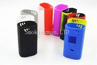 Wholesale E Cigs Cover - Colorful Smok Alien 220W Box Mod Silicone Cases Silicon Sleeve Cover Skin For Smoktech Alien 220 TC Box Mod e cigs