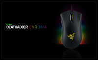 Wholesale Sensor Optical - Razer Deathadder Chroma USB Wired Optical Computer Gaming Mouse 10000dpi Optical Sensor Mouse Razer Mouse Deathadder Gaming Mice