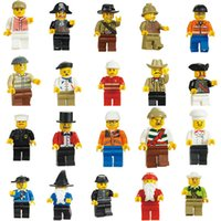 Wholesale educational toys for kids for sale - Minifigures With Different Model Figures Building Blocks Educational Toy For Kids DIY Bricks Toys Action Figures