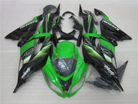 Wholesale kawasaki aftermarket motorcycle fairings - New Aftermarket ABS Injection motorcycle Fairings set Fit For kawasaki Ninja ZX6R 599 636 13-16 ZX-6R 2013 2014 2015 2016 green black