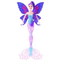 Wholesale tails doll - Mermaid Barbie Toy With Wings Princess Doll Girl Colors Tail Shaky DIY Removable Non Toxic Tasteless Eco Friendly Material 40CM 20 5yx I1