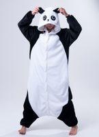 Wholesale Pyjama Anime - Panda Sleepsuit JP Anime Pajamas Panda Cosplay Costume Pyjamas Hoodies Unisex Adult Onesie Pajama Sleepwear
