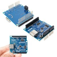 Wholesale Arduino Adk - USB Host Shield Support Google For Arduino Android ADK & UNO 328 MEGA 2560 Duemilanove