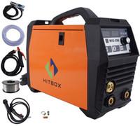 Wholesale Mag Welding Machines - mig200 mag MIG welding machine GAS gasless MIG MMA lift TIG 3 in 1 welder multifunction welding machine