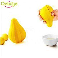 Wholesale Silicone Lemon Juicer Squeezer - Delidge 20pcs Fruit Juice Squeezer Silicone Hand Manual Convenient Fruit Orange Lemon Juice Press Squeezer Citrus Juicer