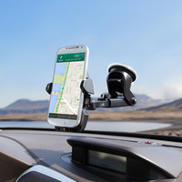 Wholesale car window holder for sale - Universal Mobile Car Phone Holder Degree Adjustable Window Windshield Dashboard Holder Stand For All Cellphone GPS Holders