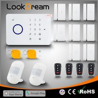 Wholesale Smart Wireless Burglar - LookDream Smart Touch Security Wireless GSM Burglar Home Alarm With RFID Companies Director Sales Low Consumption Power Protect Family