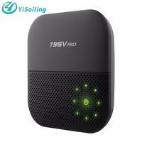 Wholesale Wholesale Tv Tuner - T95V PRO Android 6.0 2GB 16GB Amlogic S912 Smart Android TV box Octa-core 2.4G 5G WIFI Bluetooth 1000M Lan top Box pk X96 box