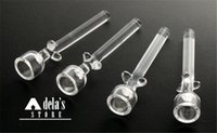 Domeless Quartz Nail Length 60mm 14.5mm 18.8mm Direct Inject Universal Pure Quartz China Direct Wholesale Price Dab Rig DHL 161