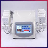 Wholesale Free Weights Machines - Free Shipping Portable Weight Loss Machine 14 Pads Low Level Laser Therapy Diode Lipo Laser 14080mW Power Slimming Machine