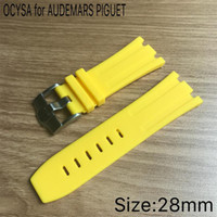 Wholesale ap royal - Watch Accessories 28MM Rubber Strap for AP Royal Rubber Strap
