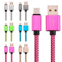 Compra Bundle Usb-1M Tessuto intrecciato Usb 3.1 Tipo C Cavi Usb Accessori Bundle Per Huawei P9 / Mate 9 LG G5 Nexus One Plus 2 Samsung s8