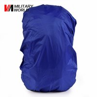 Wholesale Backpack Rain Cover Bag - Wholesale-30L-40L Waterproof Travel Backpack Luggage Bags Dust Rain Cover Running Climbing Waterproof Shoulder Bag Cover Case Travel Kit !