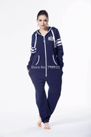 Wholesale Nordic Way Jumpsuit - Wholesale- Printed one piece jumpsuit jump in tracksuit playsuit zip hoody fleece nordic way romper for playing unisex clothes