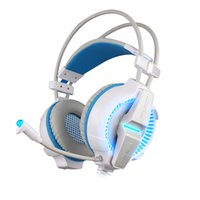 Wholesale Surround Sound Gaming Headphones - KOTION EACH G7000 7.1 USB Surround Sound Gaming Headphones Microphone Stereo Headset Enhanced Bass LED Light for Computer PC